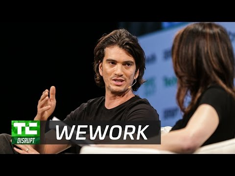 Optimizing space itself with WeWork's Adam Neumann | Disrupt NY ...