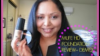 MUFE HD Foundation #128 Review+Demo Thumbnail