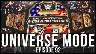 Video WWE 2K18 | Universe Mode - 'BROKEN CHAMPION?!' | #92 download MP3, 3GP, MP4, WEBM, AVI, FLV Januari 2018