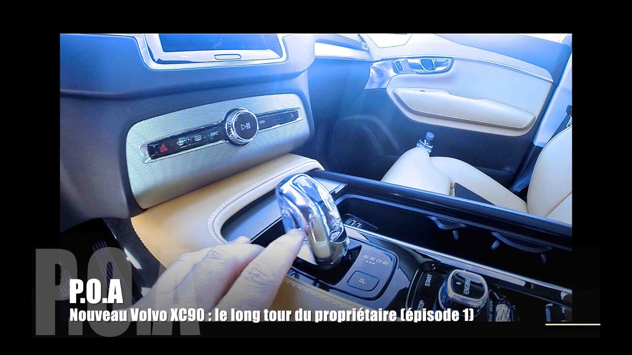 nouveau volvo xc90 2015 le long tour du propri taire. Black Bedroom Furniture Sets. Home Design Ideas