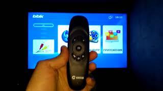 BBK 43LEX-5038  Интерфейс и Функциональность