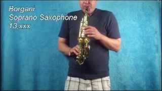 Borgani Soprano Sax 13xxx
