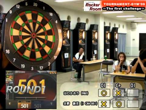 RockerRoom TOURNAMENT-GYM'09 Ladies Premiere決勝 山口かおり vs 北野桃花 2009/09/06