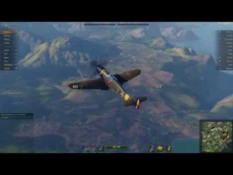 "World of Warplanes - German Fighter Messerschmitt Bf 109 F ""Friedrich"" (with Romanian livery)"