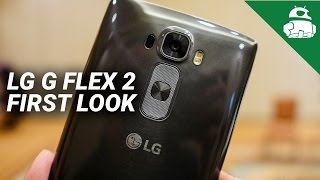 LG G Flex 2 - LG G Flex 2 First Look!