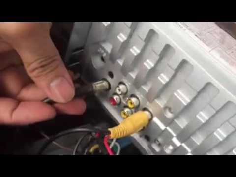 Vw Wiring Harness Plug Car Mp5 Player Installation Vedio Youtube