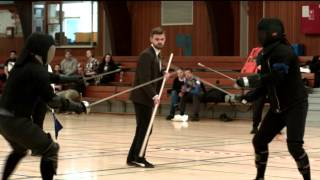Rapier and Dagger Final, Copenhagen Open 2015, NHFL