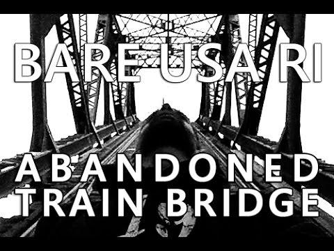 BARE USA RI | UrbEx in Rhode Island | Abandoned Train Bridge in Providence Rhode Island
