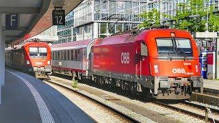 Zugverkehr in München Hbf
