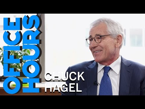 Chuck Hagel: When Chuck Hagel Wore A Joe Biden Costume
