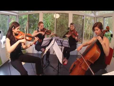 Mika: Any Other World string quartet cover by Thalia Strings
