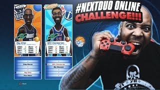 FIRST GAME WITH LEGEND WILT CHAMBERLAIN ONLINE! NBA Playgrounds Online Duo Challenge Gameplay Ep. 7