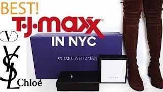 Best TJ Maxx in NYC | Gucci, Valentino, Stuart Weitzman, YSL, Chloe, Fendi, etc.