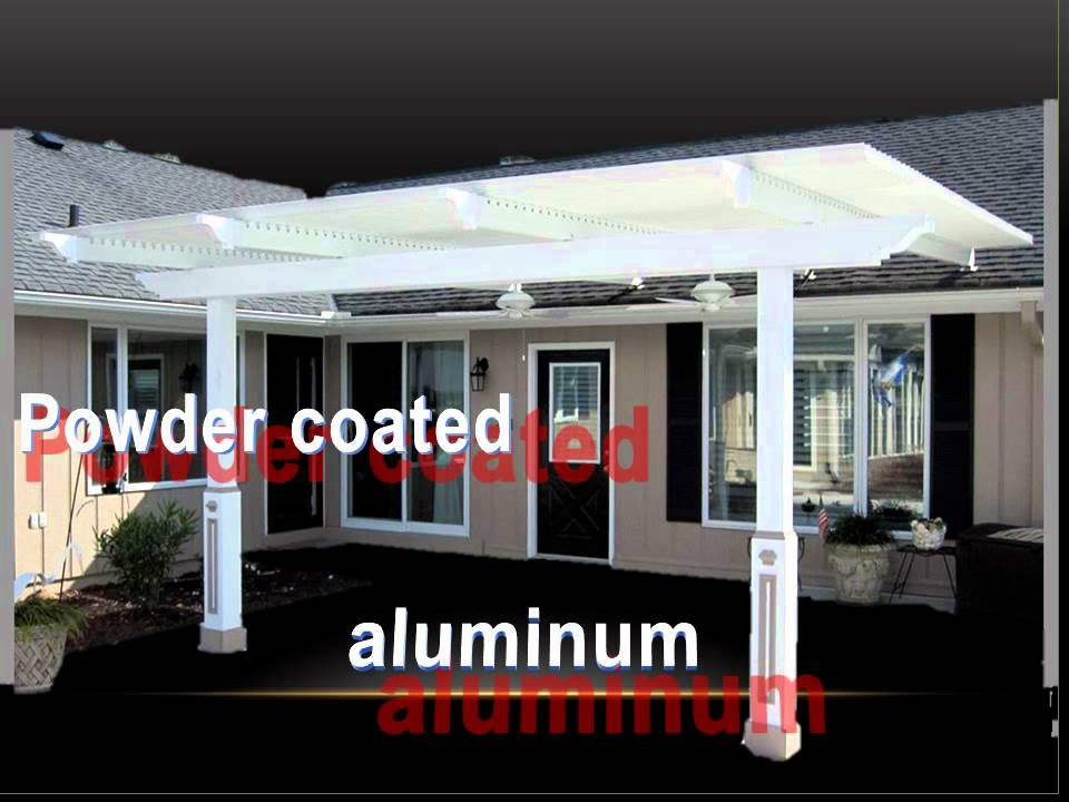 The Louvered Patio Cover