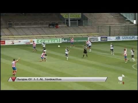 J-38: Burgos 1-1 Tordesillas [10/11] // Gol de Jorge Troiteiro