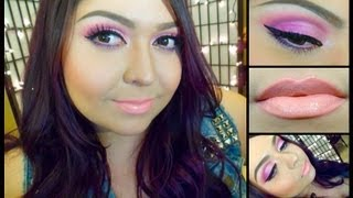 Look: Pretty In Pinks (Soft Pink Spring Makeup) Thumbnail