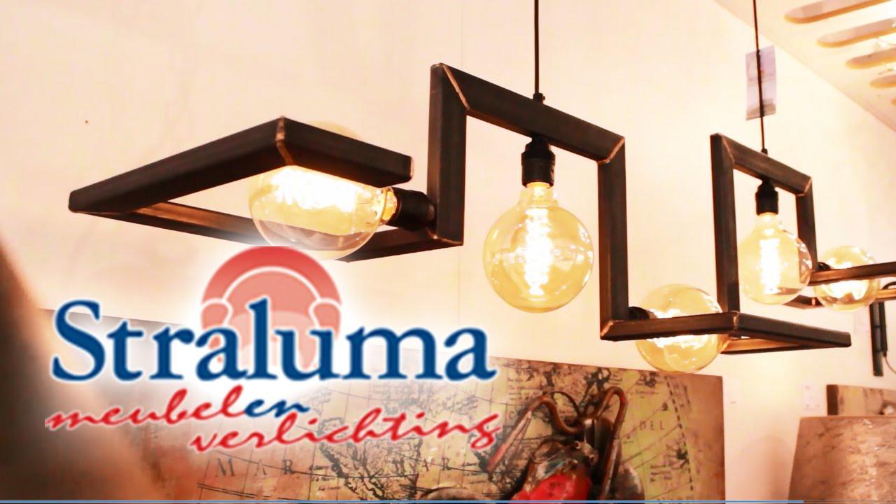 veel industriele lampen en decoratie bij straluma de grootste verlichtingszaak van nederland youtube