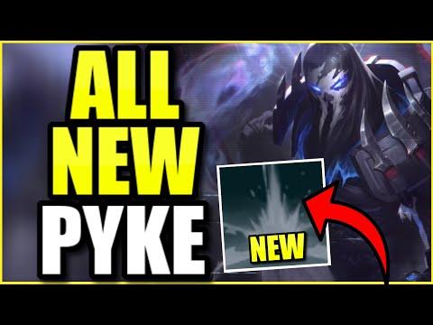 (NEW *EVERYTHING*) PSYOPS PYKE IS 100% AMAZING! BEST PYKE SKIN EVER MADE (INSANE GAME)