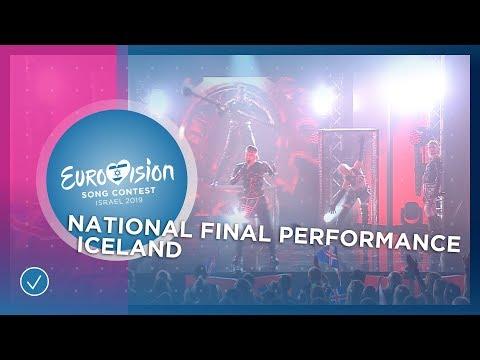 Hatari - Hatrið Mun Sigra - Iceland 🇮🇸 - National Final Performance - Eurovision 2019