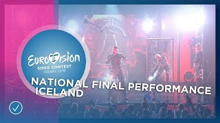 Hatari - Hatrid Mun Sigra - Iceland - National Final Performance - Eurovision 2019