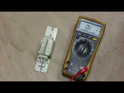 How to test a Fluorescent Ballast