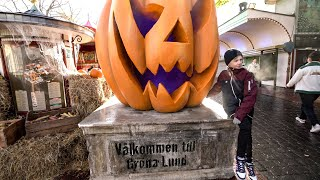 Halloween at Gröna Lund Amusement Park