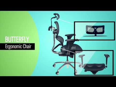 Butterfly Chair Ergonomic Office Chair