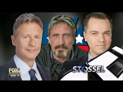 Stossel/Fox Business 2016 Libertarian Party Debate - Parts 1 & 2