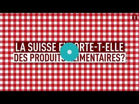 D'où viennent les aliments consommés en Suisse?