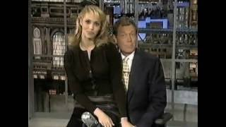 Elizabeth Berkley on Late Show (1995)