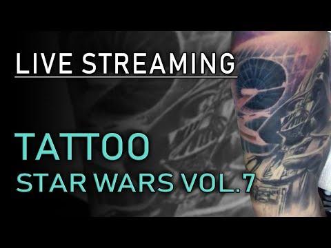 Tatuaggio Star Wars Live Streaming Vol.7