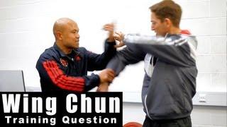 Wing Chun training - wing chun how to use lap sao. Q19