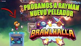 BRAWLHALLA: Jugando Con RAYMAN Nuevo Peleador y Mi Opinion - *** JUEGO GRATIS ***  PS4 XBox PC