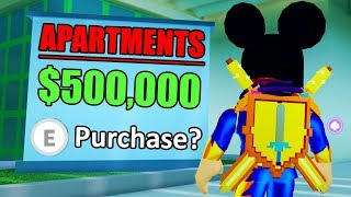 🔴 Roblox MAD CITY APARTMENTS UPDATE - BUY YOUR OWN HOUSE! | Roblox Mad City New Update LIVE