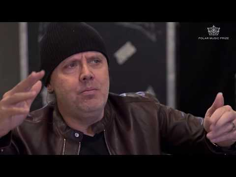 Polar Music Prize interview with Lars Ulrich of Metallica