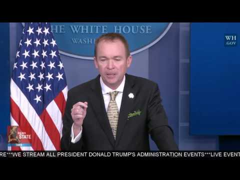 WATCH: Mick Mulvaney Spank the Main stream Media over the New Budget Blueprint!!
