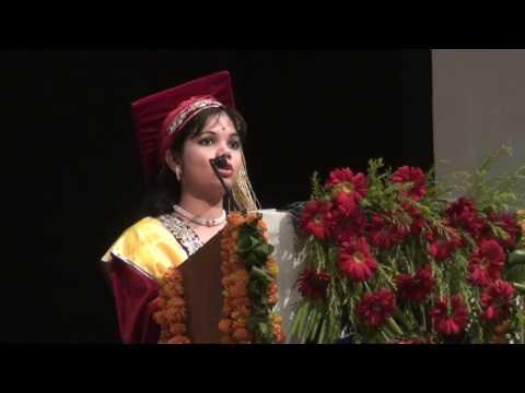 Subharti University Diploma Convocation at  Mangalya Auditorium on 16 th May Clip7