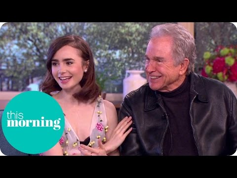 Lily Collins Spills Some Set Secrets About Warren Beatty's Directing Style | This Morning
