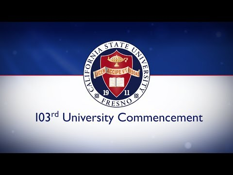 103rd University Commencement, Fresno State - May 17, 2014