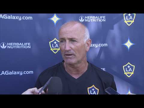 Dominic Kinnear speaks to the media for first time as LA Galaxy Interim Head Coach