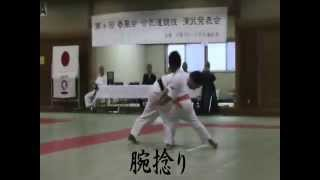 8-Nov-2015 , Aikidou Festival in Japan.Demonstration by Haruto , Th...