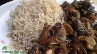 Odkud se bere arzen v rýži, houbách a víně?