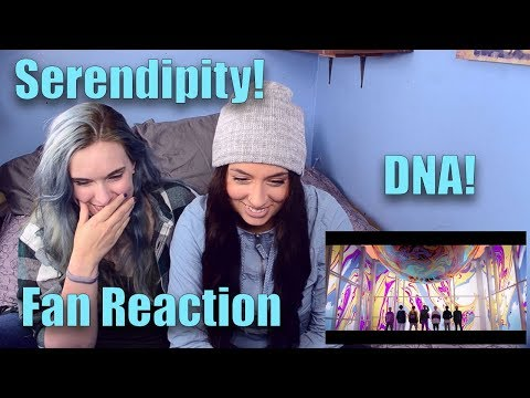 """BTS """"Serendipity"""" and """"DNA"""" Reactions!"""