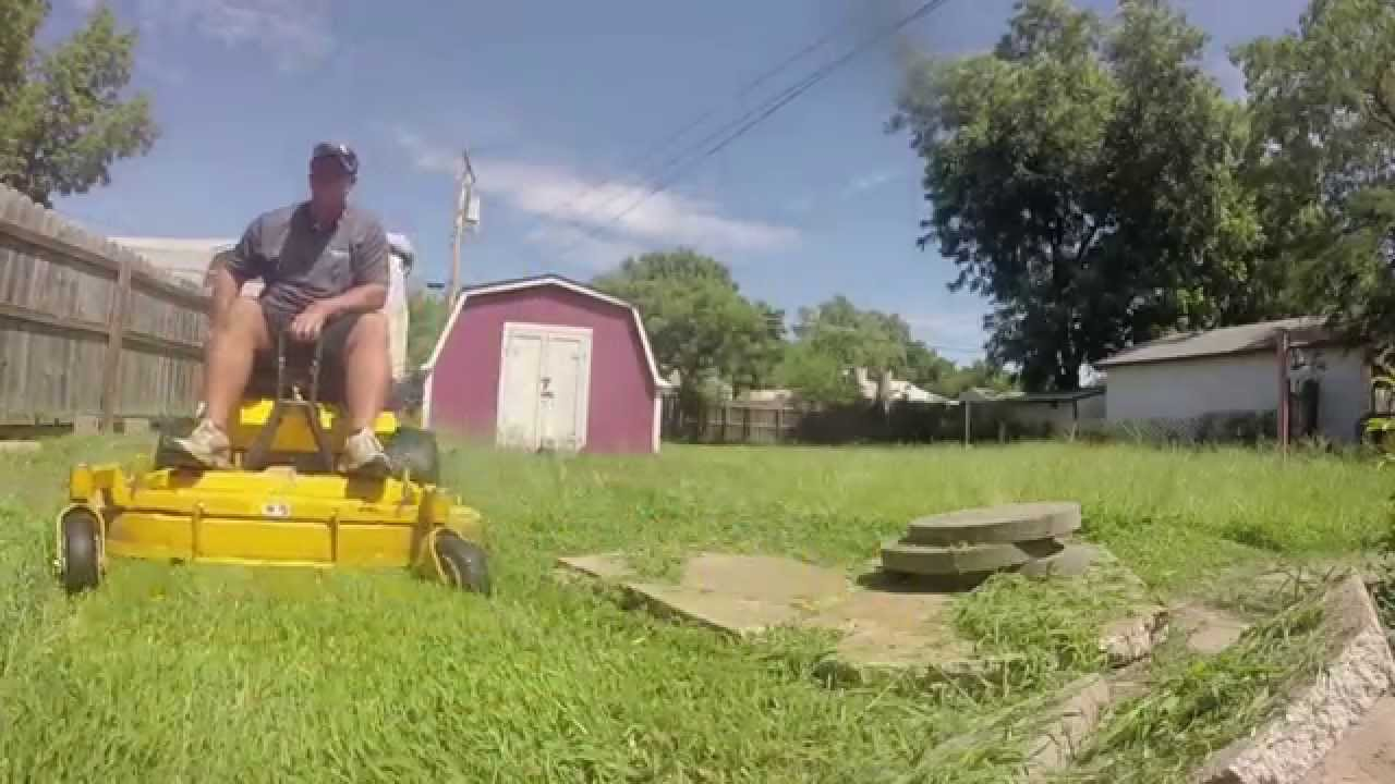 running two crews lawn care vlog
