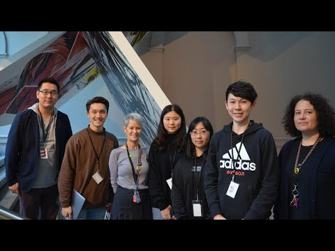 Workplace Student Volunteers | Auckland Art Gallery x English Language Academy