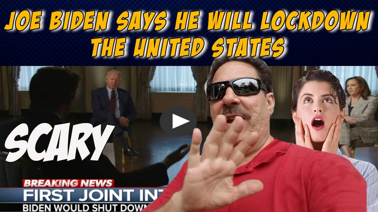 Joe Biden Says In ABC Interview He Will Lock Down The Whole Country