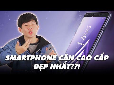 Galaxy A8 (2018) - Smartphone cận cao cấp ĐẸP NHẤT??!