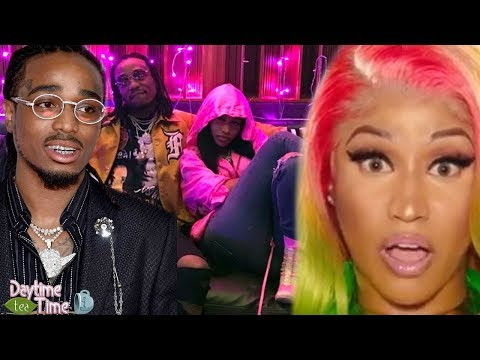 Nicki Minaj gets PUT ON BLAST by Quavo in...