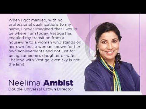 Vestige business details explain by MRS. NEELIMA AMBIST from bhopal