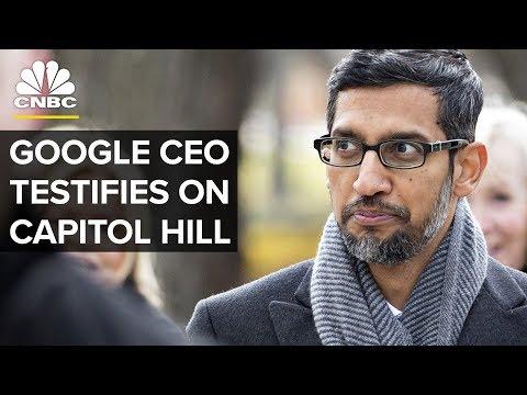 Google CEO Sundar Pichai Testifies Before the House Judiciary Committee - Dec.11, 2018